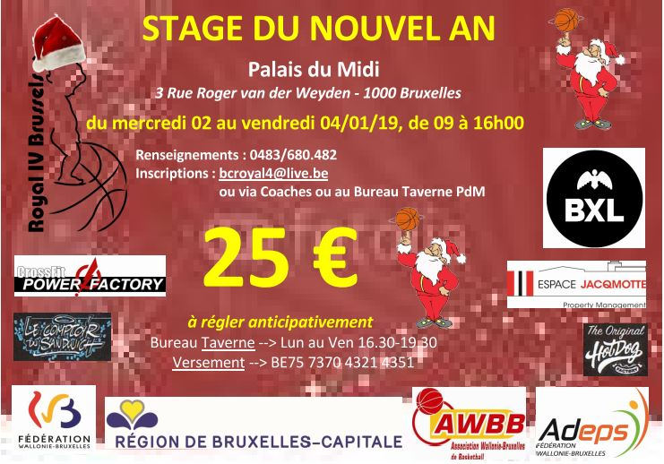 Stage Nouvel An 2019
